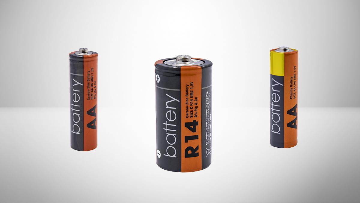 baterie alkaiczne i cynkowo-węglowe