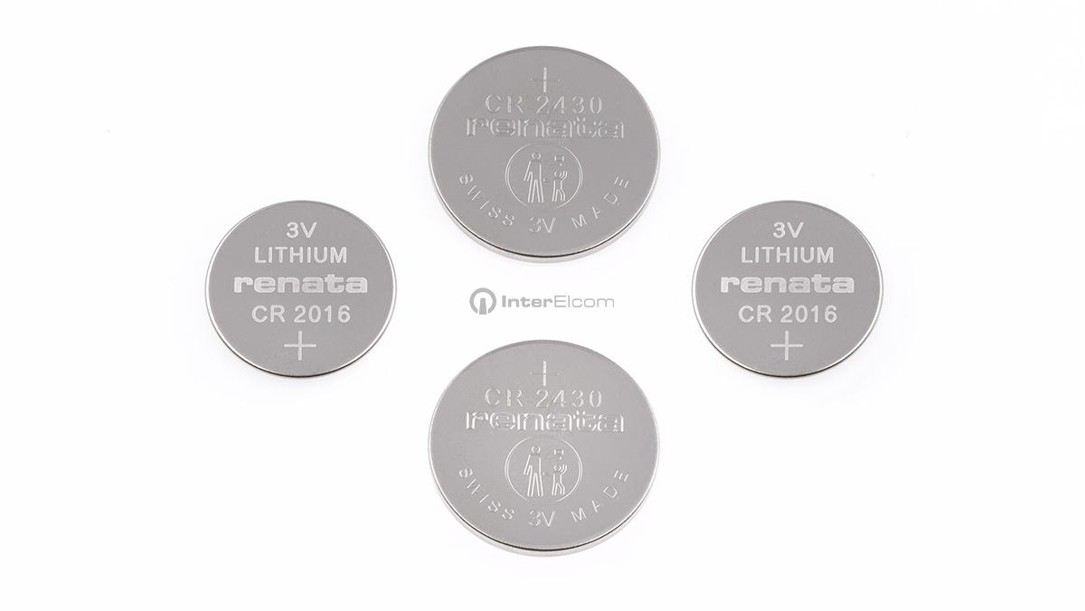 baterie litowe Renata